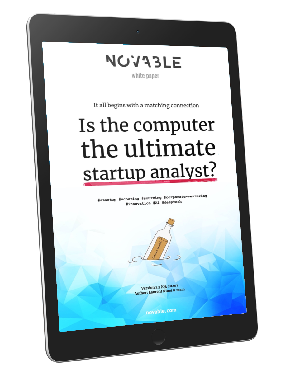 Novable - startup scouting - whitepaper