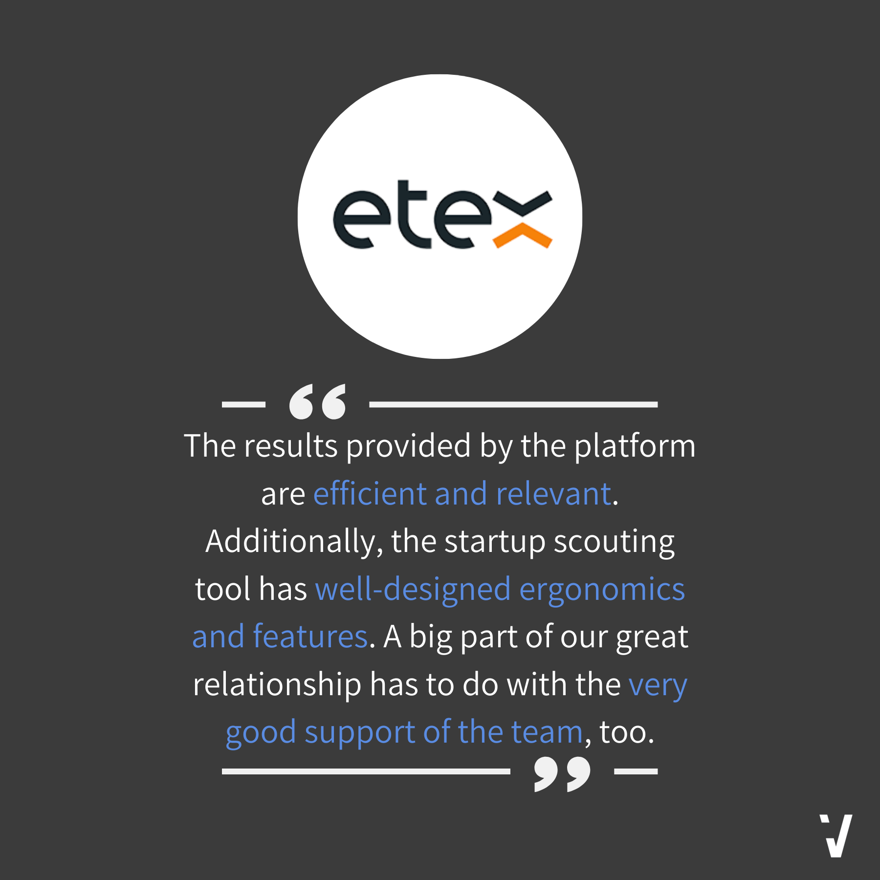 How Do Our Startup Scouting Services Benefit You? Hear It From Etex